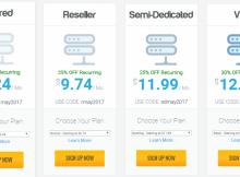 Khuyến mãi cực sốc tại nhiều nhà cung cấp hosting giá rẻ