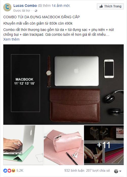 Mẫu quảng cáo Facebook 4
