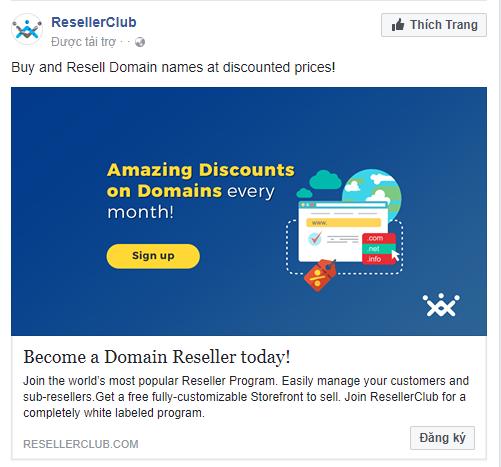 Mẫu quảng cáo Facebook 5