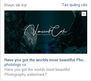 Mẫu quảng cáo Facebook 6