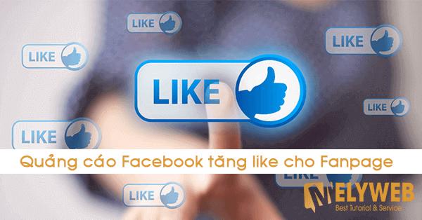 Quảng cáo Facebook tăng like cho Fanpage