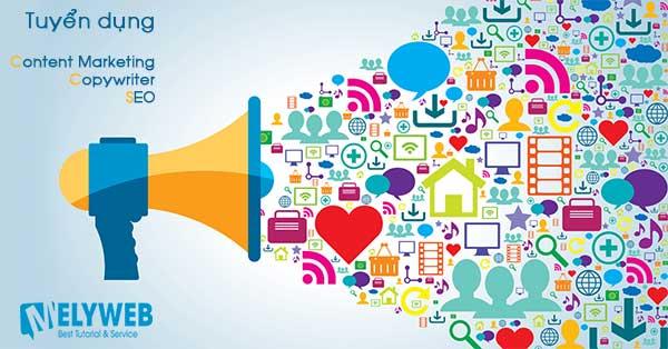Tuyển dụng nhân viên Content Marketing, SEO & Copywriter